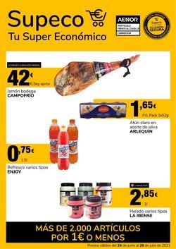 Ofertas de Hiper-Supermercados en el catálogo de Supeco ( Publicado ayer)