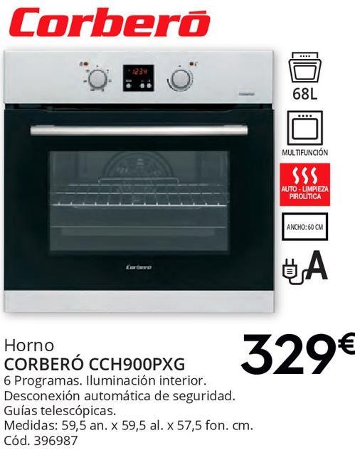 Comprar hornos ofertas y promociones for Oferta encimera y horno