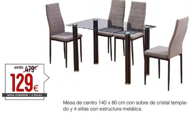 Comprar Mesa de comedor | Ofertas y promociones