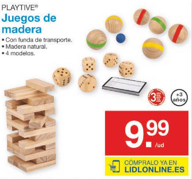 En Descuentos ValladolidOfertas De Y Comprar Juguetes Madera Ow08nPkX