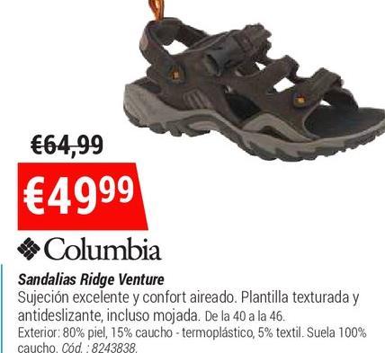 Rivas En VaciamadridOfertas Y Descuentos Sandalias Comprar c54SjLRq3A