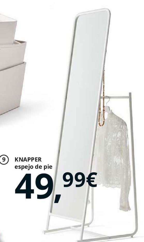 Oferta de Espejo de pie por 49.99€