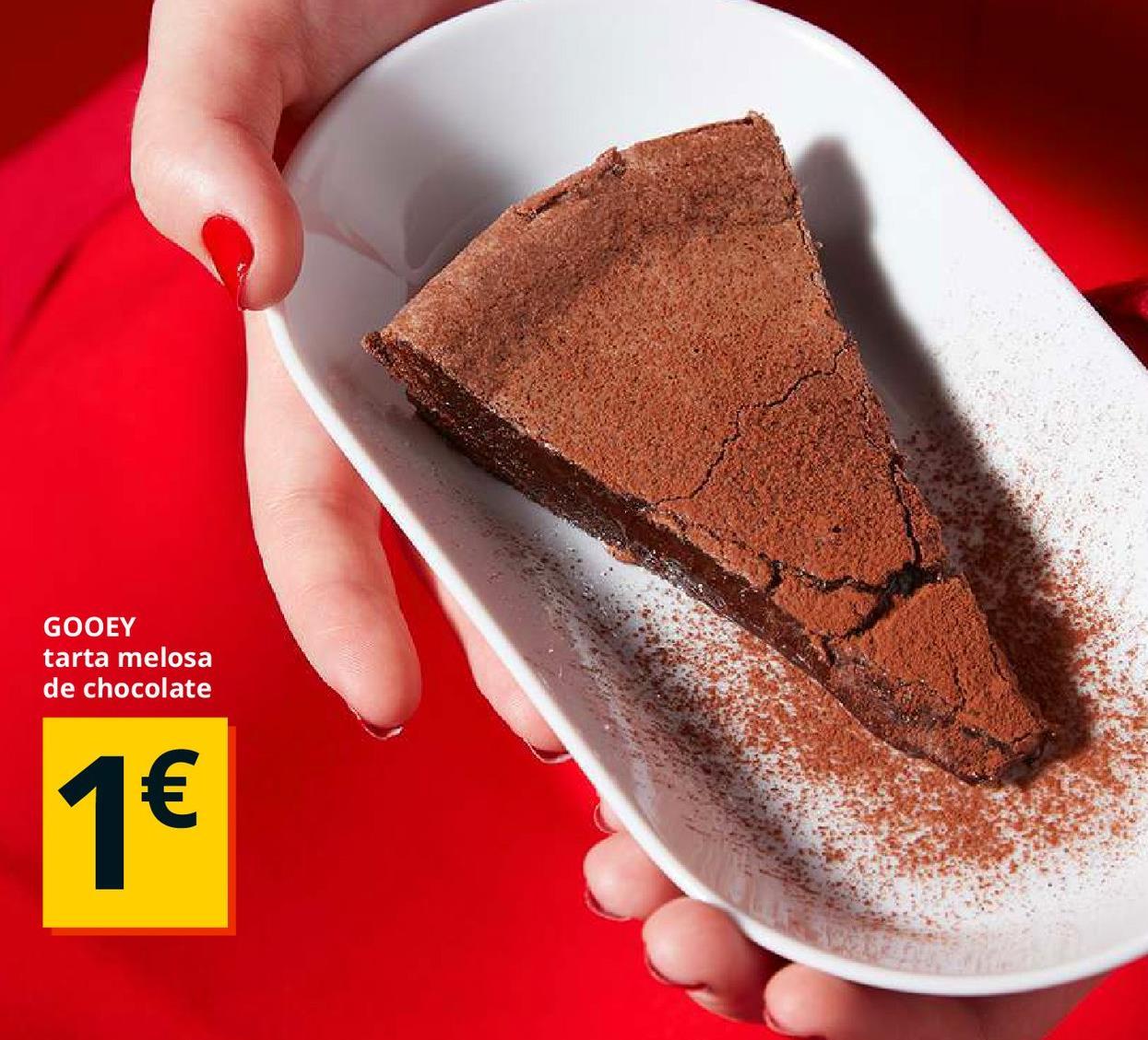 Oferta de Tarta de chocolate por 1€