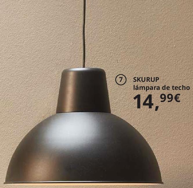 Oferta de Lámpara de techo por 14,99€
