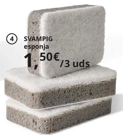 Oferta de Esponja por 1.5€