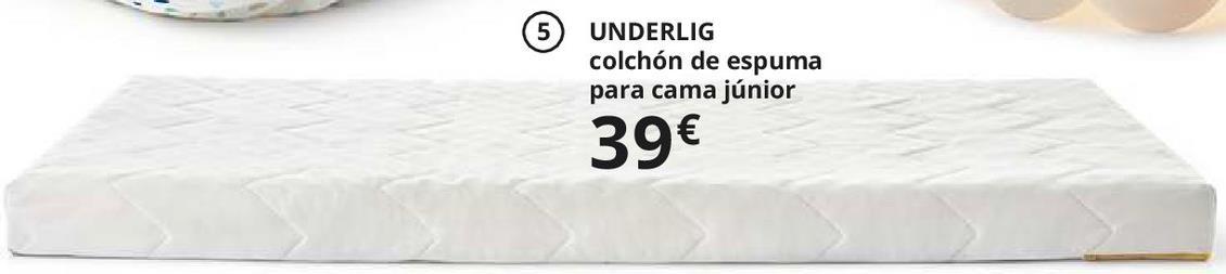Oferta de Colchón de espuma por 39€