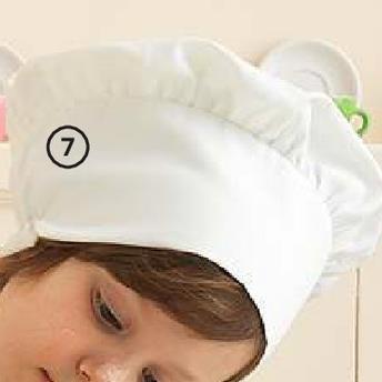 Oferta de Gorro de cocina para niños por 6€