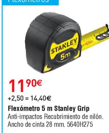 Oferta de Flexómetro Stanley por 11.9€