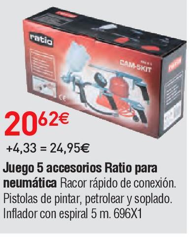 Oferta de Herramientas Ratio por 20.62€