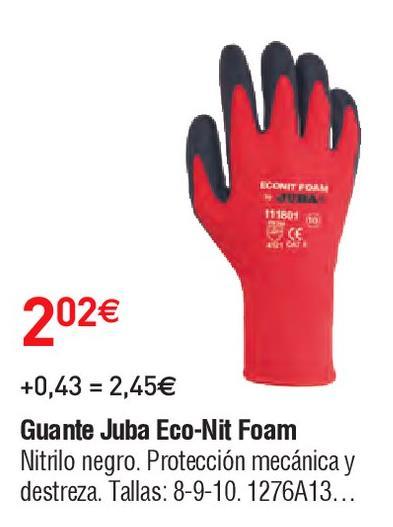 Oferta de Guante juba por 2.02€