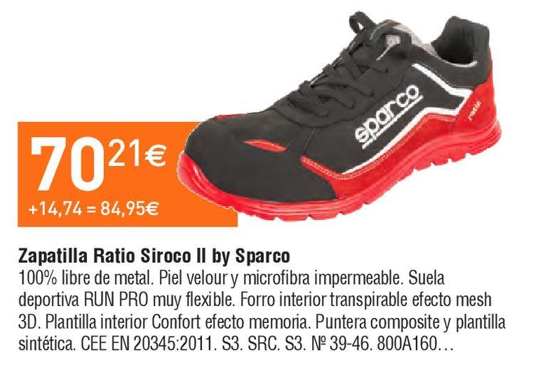Oferta de Zapatillas Sparco por 70.21€