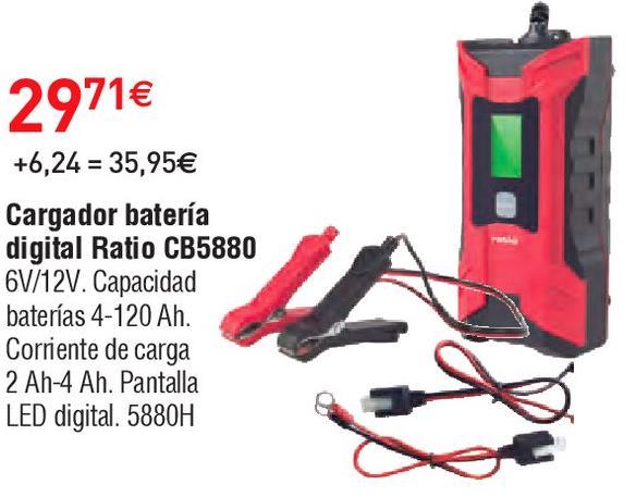 Oferta de Cargador de batería para coche Ratio por 29.71€
