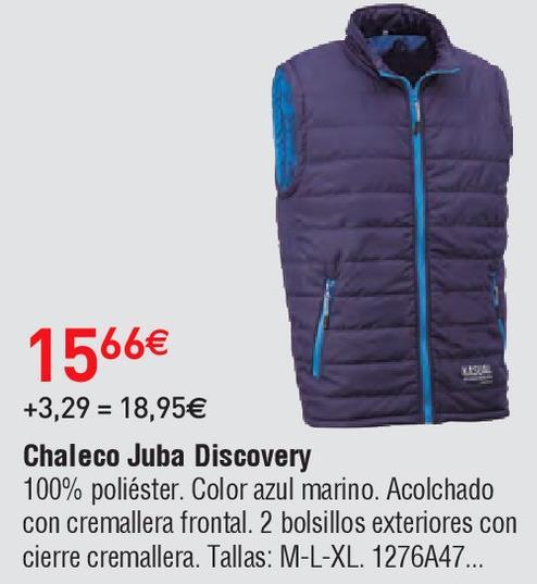 Oferta de Chalecos juba por 15.66€