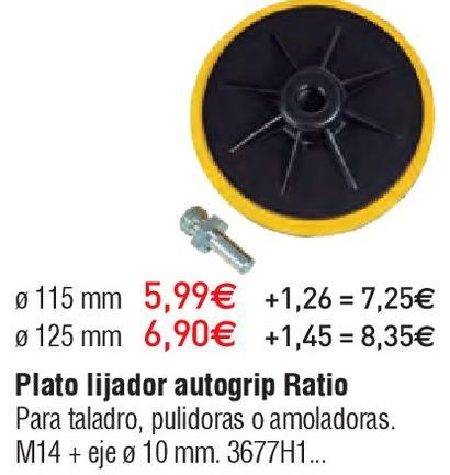 Oferta de Lijadora Ratio por 5.99€