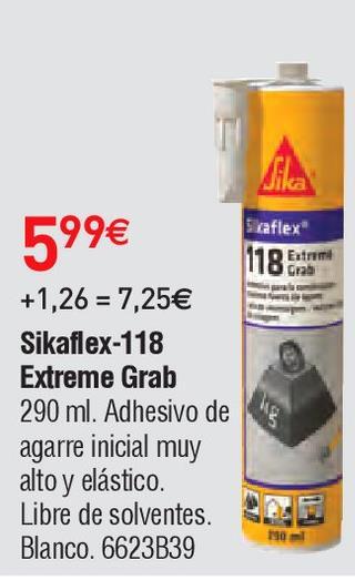 Oferta de Adhesivo de montaje sika por 5.99€