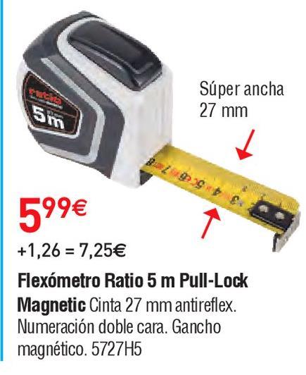 Oferta de Flexómetro Ratio por 5.99€