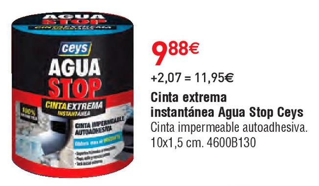 Oferta de Cinta adhesiva ceys por 9.88€