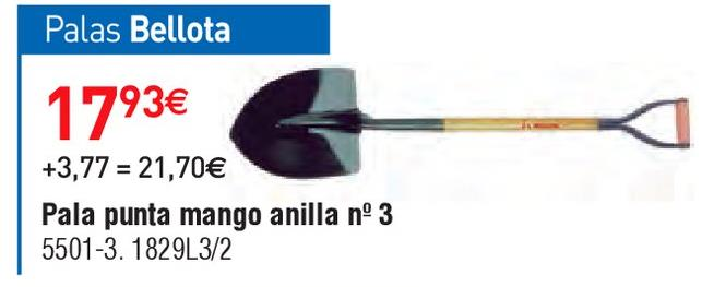 Oferta de Pala Bellota por 17.93€