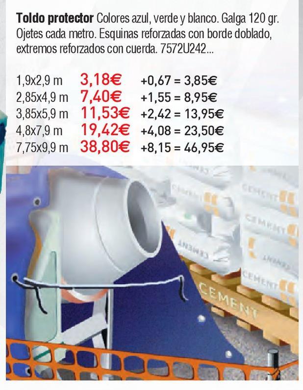 Oferta de Toldo por 3.18€