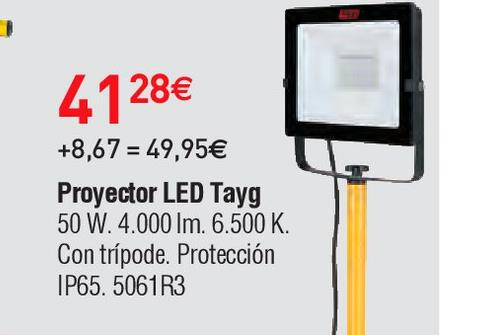 Oferta de Proyector led tayg por 41.28€