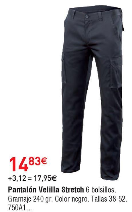 Oferta de Pantalones velilla por 14.83€