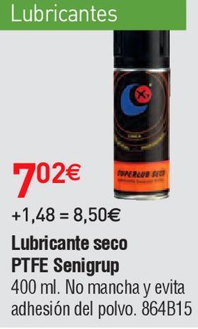 Oferta de Lubricante por 7.02€