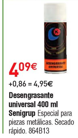 Oferta de Spray desengrasante por 4.09€