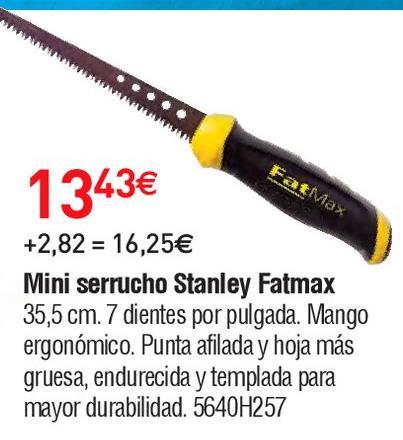 Oferta de Serrucho Stanley por 13.43€