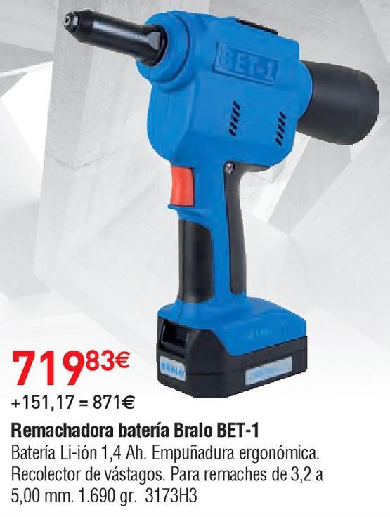 Oferta de Remachadora por 719.83€