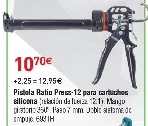 Oferta de Pistola para silicona Ratio por 10.7€