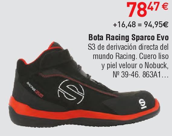 Oferta de Botas de seguridad Sparco por 78.47€