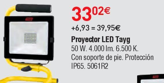 Oferta de Proyector led tayg por 33.02€