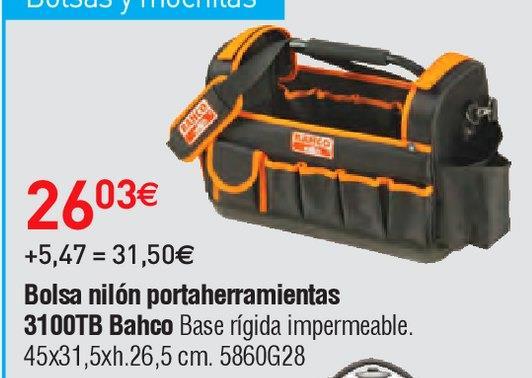 Oferta de Bolsa portaherramientas Bahco por 26.03€