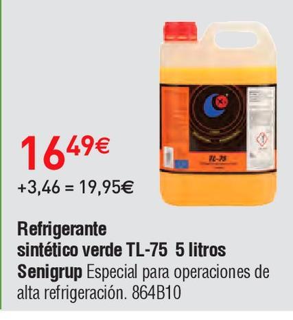 Oferta de Líquido refrigerante por 16.49€