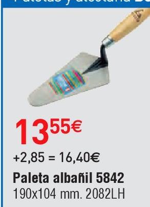 Oferta de Herramienta de mano Bellota por 13.55€