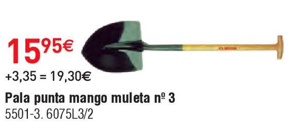 Oferta de Pala Bellota por 15.95€