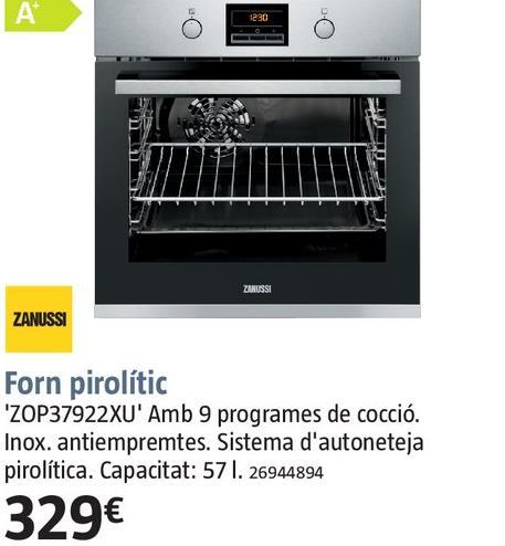 Comprar horno pirol tico en gava ofertas y descuentos for Oferta encimera y horno
