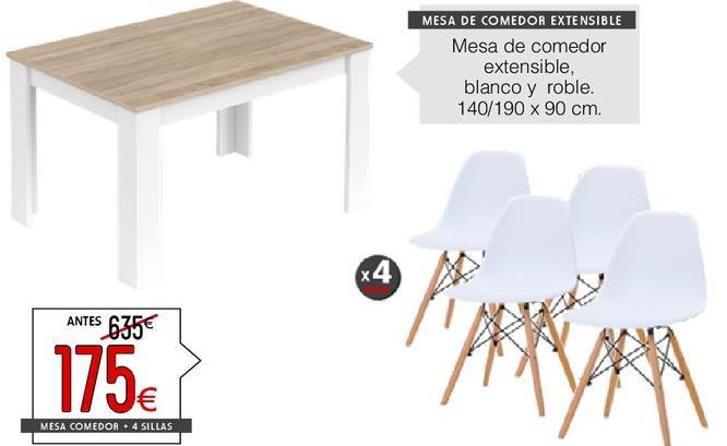 Comprar Mesa de comedor en Valencia | Ofertas y descuentos