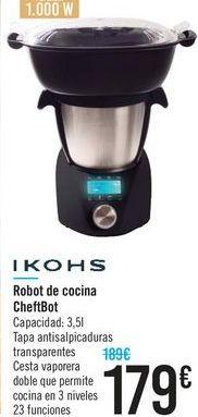Oferta de Robot de cocina ChefBot por 179€