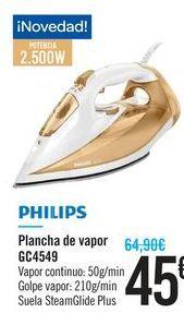 Oferta de Plancha de vapor Philips por 45€