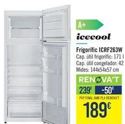 Oferta de Frigorífico Icecool  por 239€