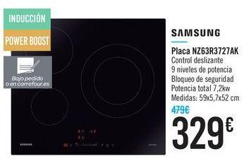 Oferta de Placa NZ63R3727AK Samsung  por 329€