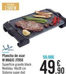 Oferta de Plancha de asar M MAGIC JT950 Jata  por 49.9€