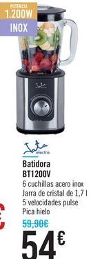 Oferta de Batidora BT1200V Jata  por 54€