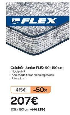 Oferta de Colchón Junior FLEX por 207€