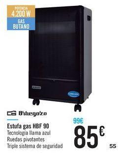 Oferta de Estufa de gas HBF 90 Orbegozo por 85€