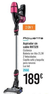 Oferta de Aspirador sin cables RH7329 Rowenta  por 189€