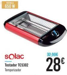 Oferta de Tostadora TC5302 Solac por 28€