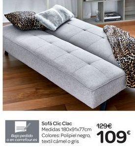Oferta de Sofá Clic Clac  por 109€