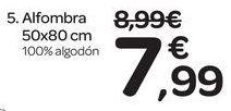 Oferta de Alfombra 50x80 cm por 7.99€